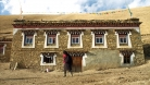 The home of the polyandrous family in Tibet, China