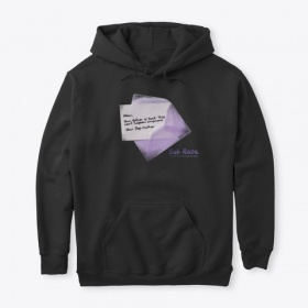 Reality Check Letter Sub Rosa Collection Pullover Hoodie and Official Merch
