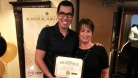 Krisstian and Linda Isrel, SAG-AFTRA Associate Business Representative