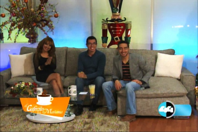Krisstian de Lara talks about Sub Rosa on Canal 44