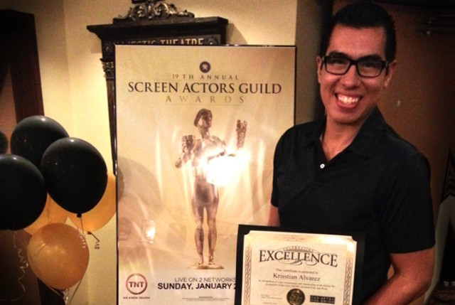 Krisstian Receives SAG Awards Recognition