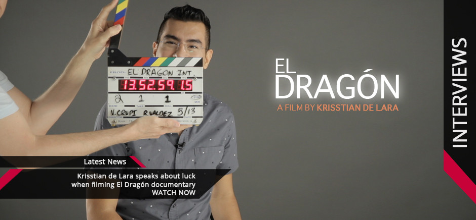 El Dragon Interview with Krisstian de Lara
