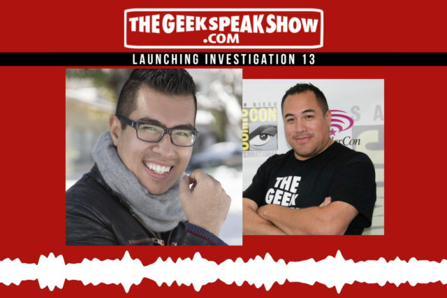 Krisstian de Lara The Geek Speak Show with Henry San Miguel