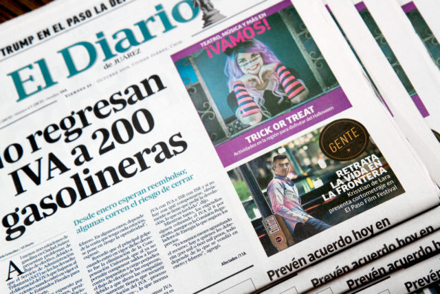 Krisstian de Lara Featured on El Diario de Juarez