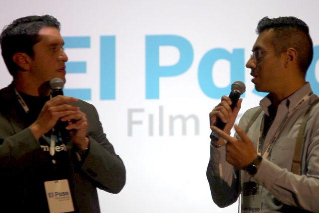 Krisstian de Lara at El Paso Film Festival